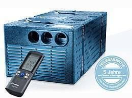 Die Truma Saphir comfort RC ist eine leistungsstarke Staukastenklimaanlage, die besonders schnell und effizient kühlt. Während des Kühlbetriebs reduziert die Truma Saphir gleichzeitig die Luftfeuchtigkeit und reinigt die Luft dank der integrierten Flusen- und Partikelfilter. Zusätzlich dient sie als Heizung mit Wärmepumpe – dank des umkehrbaren Kältekreislaufs. Bei einer Heizleistung von 1700 Watt sorgt das Gerät gerade in der Übergangszeit für angenehme Wärme.