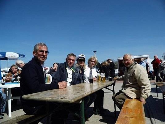 Es war gutes Wetter bei der 40-jährigen Jubiläumsfeier von Wohnwagen Bodenburg.
