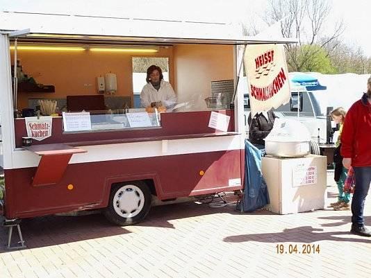 Ein Essenwagen für Süßigkeiten