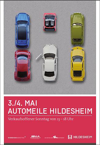 Foto von Flyer von Automeile in Hildesheim 2014