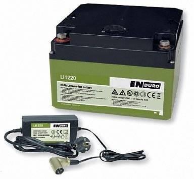 Bis zu 30 Minuten rangieren, ohne dass die leichte Batterie nachgeladen werden muss.     Leichtbau-Batterie Ideal fuer den Einbau im Wohnwagen, Wohnmobil oder Boot Extrem lange Lebensdauer mit bis zu 1500 Lade- und Entladezyklen (bei vollstaendiger Entladung) Absolut wartungsfrei, kein Auslaufen moeglich Hohe Leistungsdichte Inklusive Spezial-Ladegeraet 5 A RMS (3 A DC)